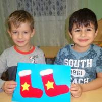 Детский мастер-класс по аппликации «Подарок Дедушке Морозу»