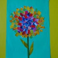 Детский мастер-класс по аппликации «Цветик-разноцветик»