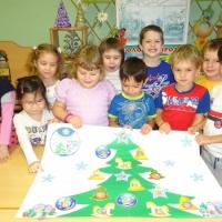 Детский мастер-класс по коллективной работе «Безопасный Новый год»