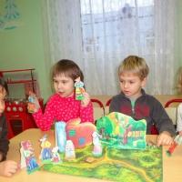Детский мастер-класс «Мастерим настольный театр своими руками»