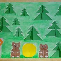 Детский мастер-класс «Коллективная работа по мотивам венгерской народной сказки»