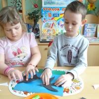 Детский мастер-класс по аппликации «Ласточка»