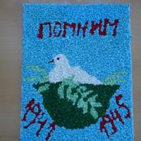Фотоотчёт о подготовке к выставке «Память о войне жива!» Детское творчество ко Дню Победы