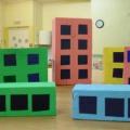 Мастер-класс по изготовлению домиков для игры по ПДД