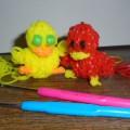 Фотоотчет «Разноцветные резиночки-2!»