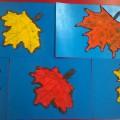 Пластинография «Осенняя красота»