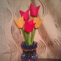 Мастер-класс «Тюльпаны»