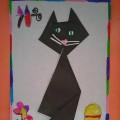 Детский мастер-класс «Мой любимый котик» (техника «оригами»)