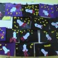 Конспект организованной образовательной деятельности по художественно-эстетическому развитию (аппликация) «Космическая ракета»