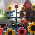 Оформление огорода на окне в средней группе