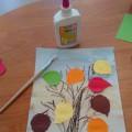 Мастер-класс: аппликация «Осеннее дерево»