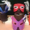 Карнавальная маска своими руками!