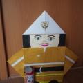 Мастер-класс «Пожарный» (оригами)