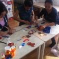 Мастер-класс для педагогов «Декорирование георгиевской ленты к 9 Мая в технике канзаши»