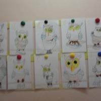 Конспект непосредственно-образовательной деятельности по рисованию в подготовительной группе «Сова»
