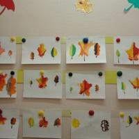 Конспект непосредственно-образовательной деятельности по рисованию в подготовительной группе «Осенние листья»