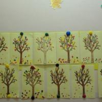 Детский мастер-класс «Осеннее дерево в технике обрывной аппликации»