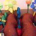 «Как у наших у ворот вырос чудо-огород!»Макет для игр детей и оформления группы