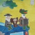 К 90-летию со дня рождения российского композитора В. Я. Шаинского. Фотоотчет о выставке детских рисунков