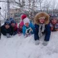Фотоотчёт о зимней прогулке «До свиданья, зима, до свиданья!»