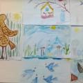 Отчёт об участии детей подготовительной группы детский сад в районном конкурсе «Птицы Самарской области»