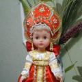 Дидактическая кукла-шкатулка в русском народном костюме