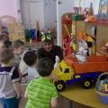 Фоторассказ о развлечении для детей первой младшей группы «В магазине игрушек»