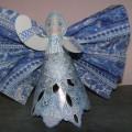 Новогоднее украшение «Голубой ангел»