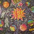 «Космос». Коллективная работа для детей 5–6 лет