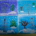 Конспект НОД образовательная область «Художественно— эстетическое развитие» на тему: «Снегири» для детей старшей группы