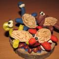 Детский мастер-класс «Черепашки» из природного материала