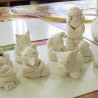 Лепка из соленого теста по мотивам русской народной сказки «Рукавичка» с детьми младшего дошкольного возраста