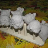 Лепка из бумажного теста по мотивам сказки «Репка». Изготовление пальчикового театра с детьми младшего дошкольного возраста