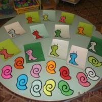 Дидактическая игра по ознакомлению детей с окружающим миром и закреплению представления о цветовой гамме для младшей группы