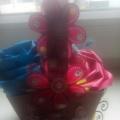 Поделка «Корзина с цветами» (фотоотчет)