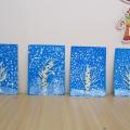 Фотоотчёт «Творческие работы детей на тему «Зима»
