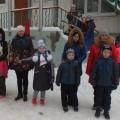 Спортивное развлечение для детей подготовительной группы с родителями «Зимние забавы»
