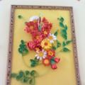 Мастер-класс по созданию композиции «Цветы в стиле квиллинг»
