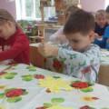 Техника «Обрывная аппликация». Творческие работы детей.