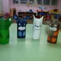 «Волшебные превращения бумажной втулки». Фотоотчёт творческих работ детей