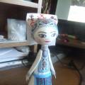 Мастер класс по изготовлению кукол из фоамирана в мордовском национальном костюме.
