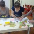 Мастер-класс для родителей «Нетрадиционное рисование в технике «штампинг» на тему «Красивый букет»