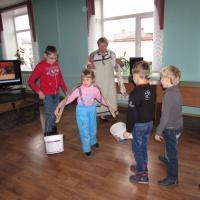 Фотоотчет о первом посещении музея истории города Мариинска в рамках проекта «Музей глазами детей»