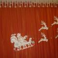 «Дед Мороз на оленьей упряжке». Мастер-класс по изготовлению оформления для музыкального зала к новогодним мероприятиям
