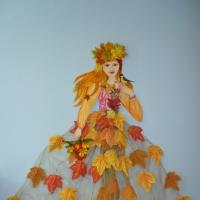 «Красавица Осень». Мастер-класс по изготовлению украшения для оформления интерьера