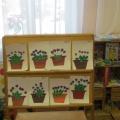 Конспект организованной образовательной деятельности в подготовительной к школе группе «Фиалки цветут на окне»