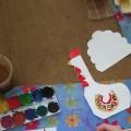 Конспект занятия по изобразительной деятельности в подготовительной к школе группе «Дымковский индюк»