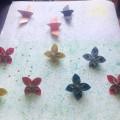 Мастер-класс по оригами «Цветочная поляна»