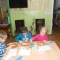 Конспект занятия по аппликации с элементами рисования в спецгруппе (младший-средний дошкольный возраст)