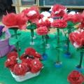 Мастер-класс: поделки из салфеток «Роза садовая» и «Роза декоративная»